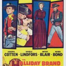 The Halliday Brand (1957) - Joseph Cotten DVD