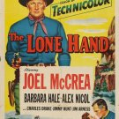 The Lone Hand (1953) - Joel McCrea DVD