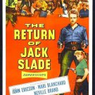 The Return Of Jack Slade (1955) - Neville Brand DVD
