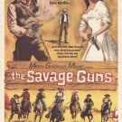 The Savage Guns AKA Tierra Brutal (1962) - Richard Basehart DVD
