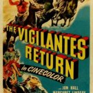 The Vigilantes Return (1947) - Jon Hall DVD