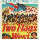 Two Flags West (1950) - Joseph Cotten DVD