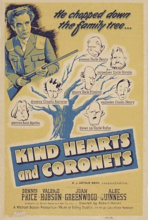 Kind Hearts And Coronets (1949) - Alec Guinness  DVD