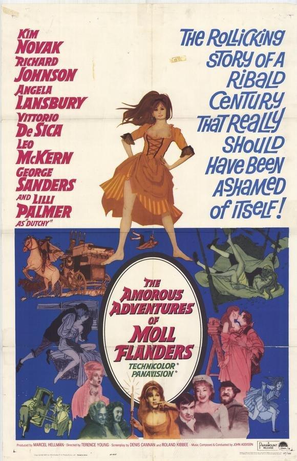 The Amorous Adventures of Moll Flanders (1965) - Kim Novak DVD