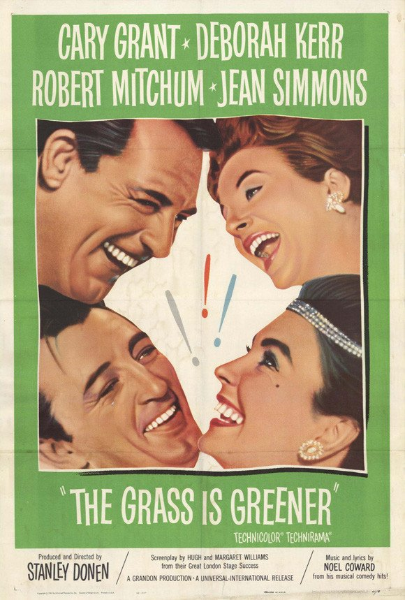 The Grass Is Greener (1960) - Cary Grant DVD