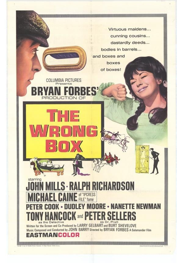 The Wrong Box (1966) - Peter Sellers DVD