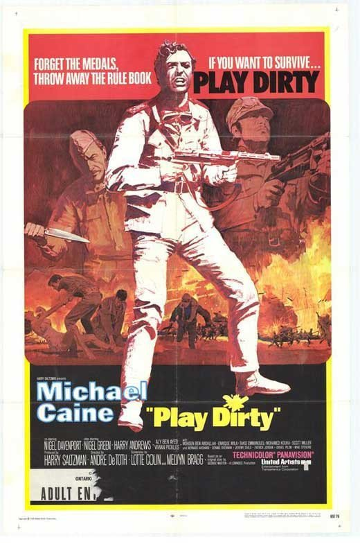Play Dirty (1968) - Michael Caine DVD