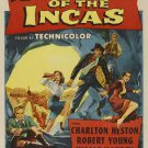 Secret Of The Incas (1954) - Charlton Heston DVD