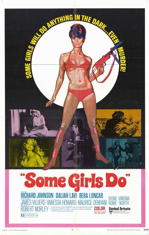 Some Girls Do (1969) - Richard Johnson DVD