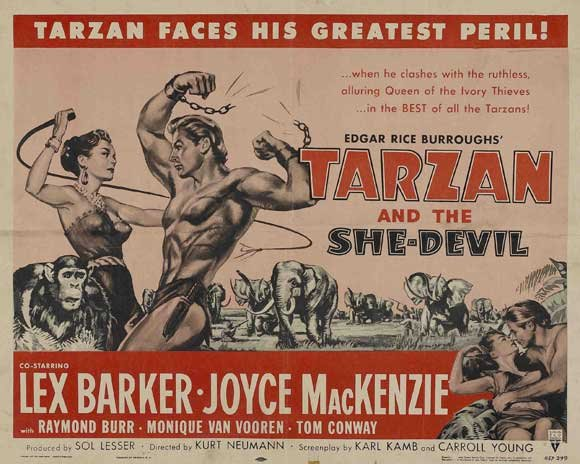 Tarzan And The She-Devil (1953) - Lex Barker DVD