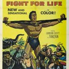 Tarzan´s Fight For Life (1958) - Gordon Scott DVD $9.95