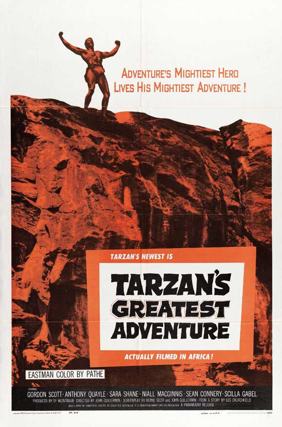 Tarzan´s Greatest Adventure (1959) - Gordon Scott DVD
