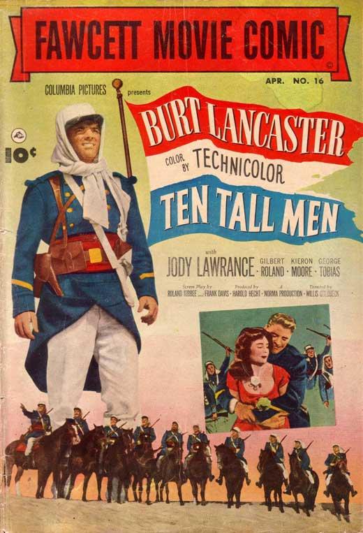 Ten Tall Men (1951) - Burt Lancaster DVD