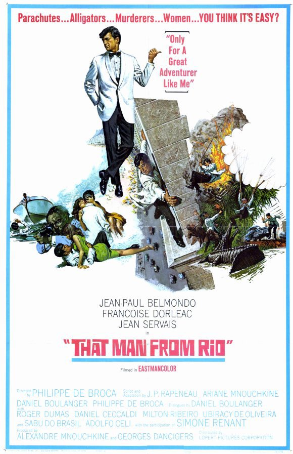 That Man From Rio (1964) - Jean-Paul Belmondo DVD