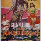 The Americano (1955) - Glenn Ford DVD