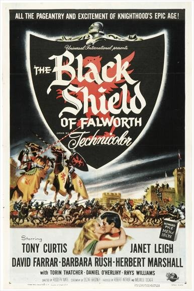 The Black Shield Of Falworth (1954) - Tony Curtis DVD