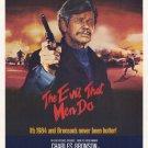 The Evil That Men Do (1983) - Charles Bronson DVD