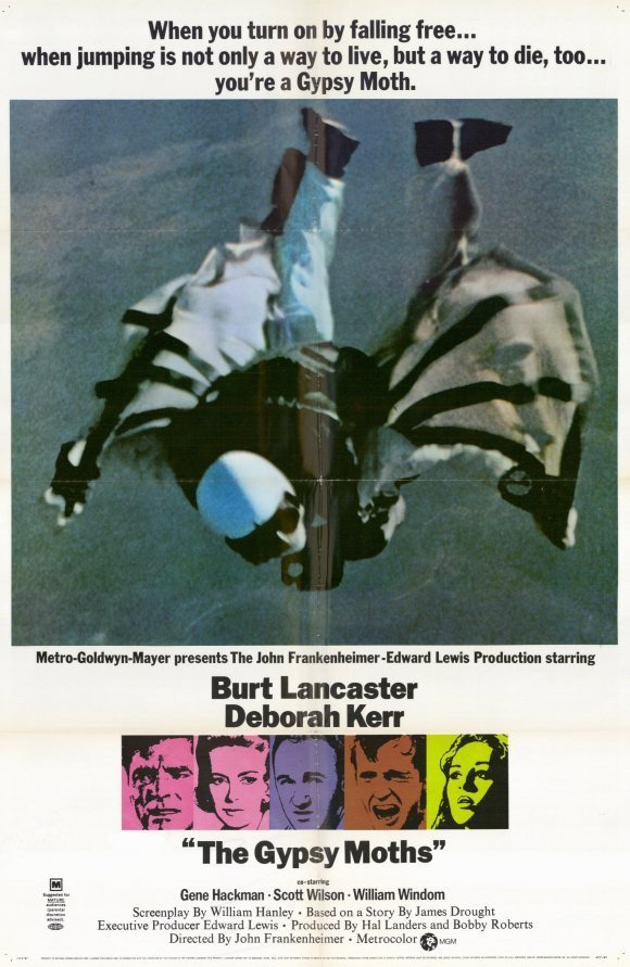 The Gypsy Moths (1969) - Burt Lancaster DVD