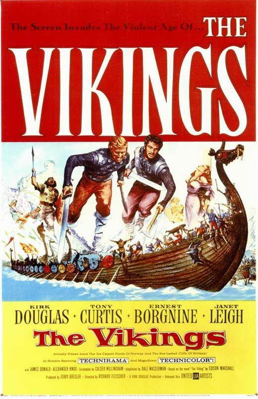 The Vikings (1958) - Kirk Douglas DVD