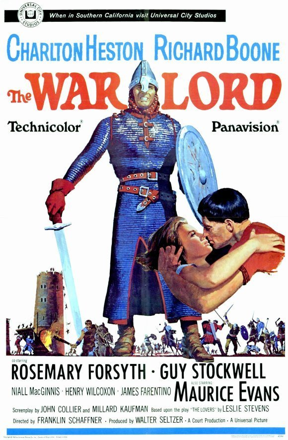 The Warlord (1965) - Charlton Heston DVD