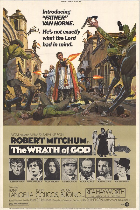 The Wrath Of God (1972) - Robert Mitchum DVD