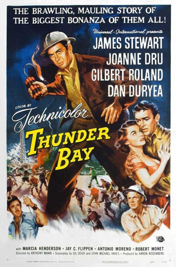 Thunder Bay (1953) - James Stewart DVD