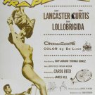 Trapeze (1956) - Burt Lancaster DVD