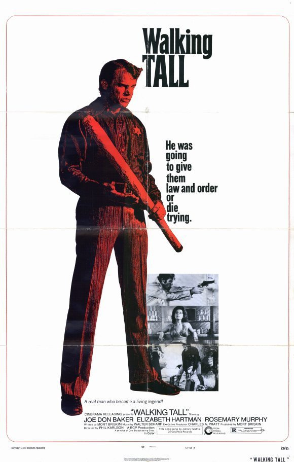 Walking Tall (1973) - Joe Don Baker DVD