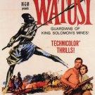 Watusi (1959) - George Montgomery DVD