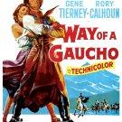 Way Of A Gaucho (1952) - Rory Calhoun DVD