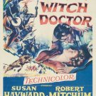 White Witch Doctor (1953) - Robert Mitchum DVD