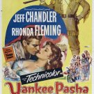 Yankee Pasha (1954) - Jeff Chandler DVD