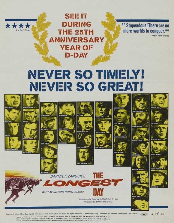 The Longest Day (1962) - John Wayne Color Version DVD