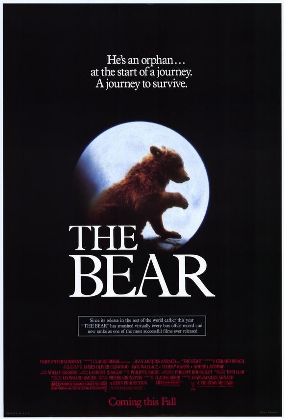 The Bear (1988) - Jean-Jacques Annaud  DVD