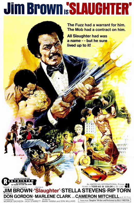 Slaughter (1972) - Jim Brown  DVD
