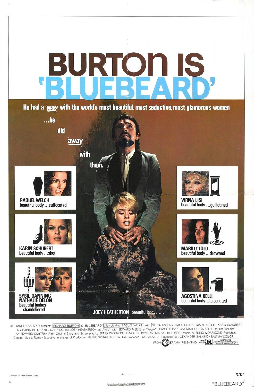 Bluebeard (1972) - Raquel Welch  DVD