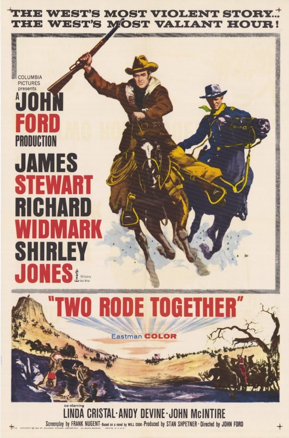 Two Rode Together (1961) - James Stewart  DVD
