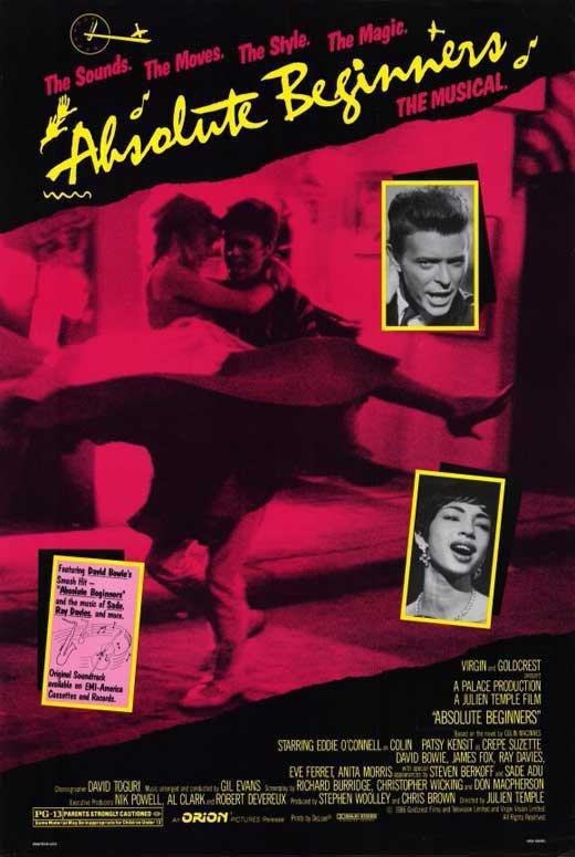 Absolute Beginners (1986) - David Bowie  DVD