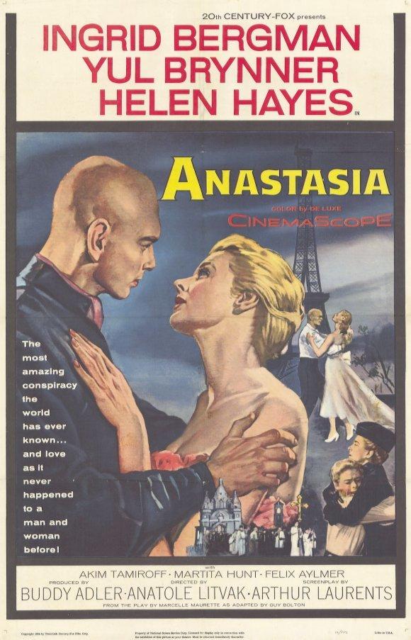 Anastasia (1956) - Ingrid Bergman  DVD