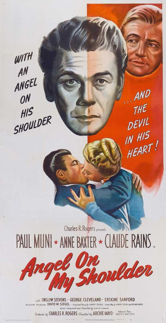Angel On My Shoulder (1946) - Paul Muni  DVD