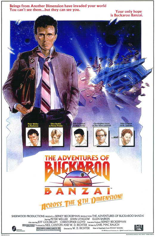 The Adventures Of Buckaroo Banzai In The Eighth Dimension (1984) - Peter Weller DVD