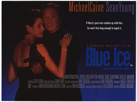 Blue Ice (1992) - Michael Caine  DVD