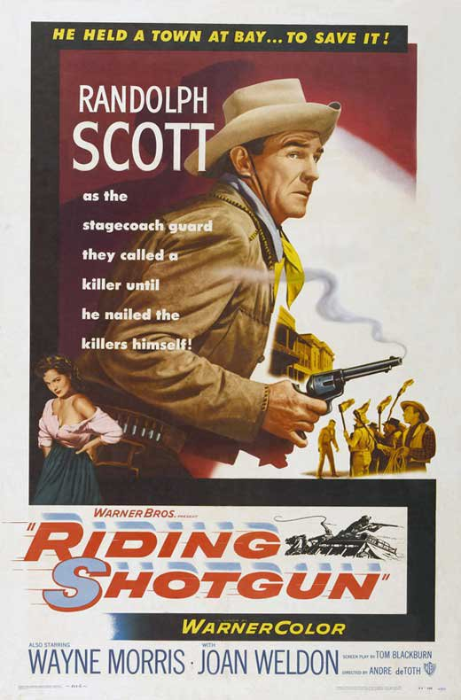 Riding Shotgun (1954) - Randolph Scott  DVD