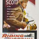 Riding Shotgun (1954) - Randolph Scott  DVD