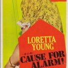 Cause For Alarm (1951) - Loretta Young  DVD