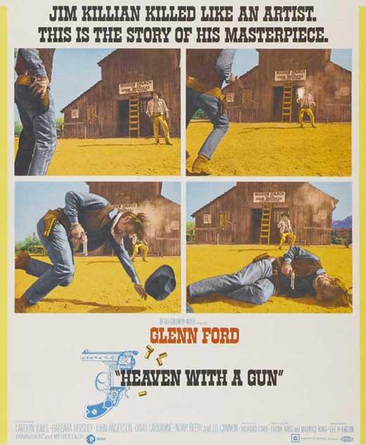 Heaven With A Gun (1969) - Glenn Ford  DVD