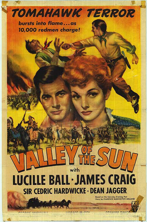 Valley Of The Sun (1942) - Lucille Ball  DVD