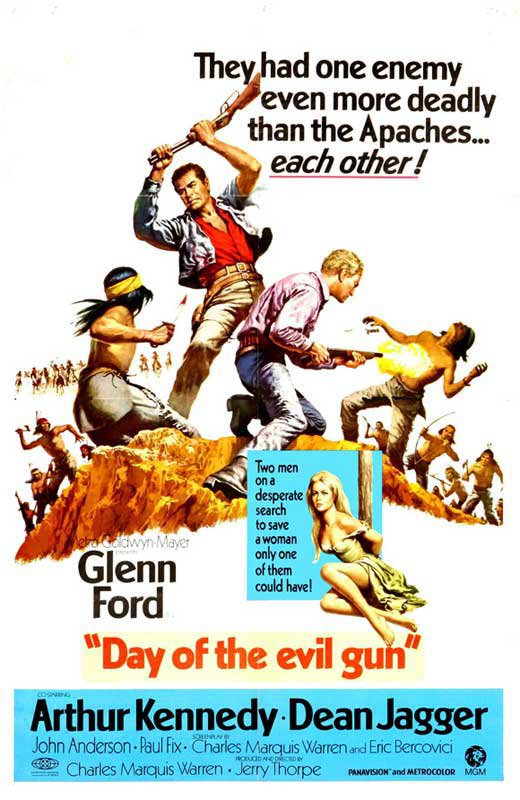 Day Of The Evil Gun (1968) - Glenn Ford  DVD