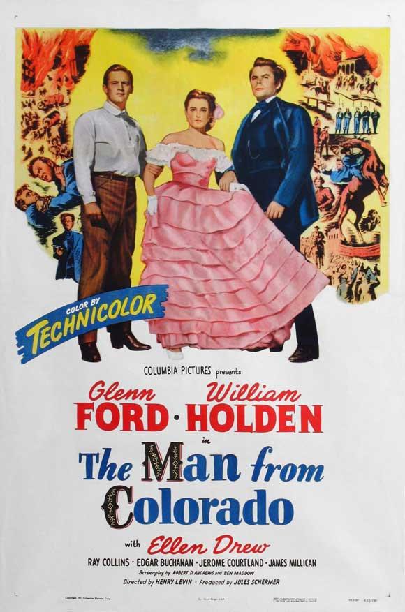 The Man From Colorado (1948) - Glenn Ford  DVD