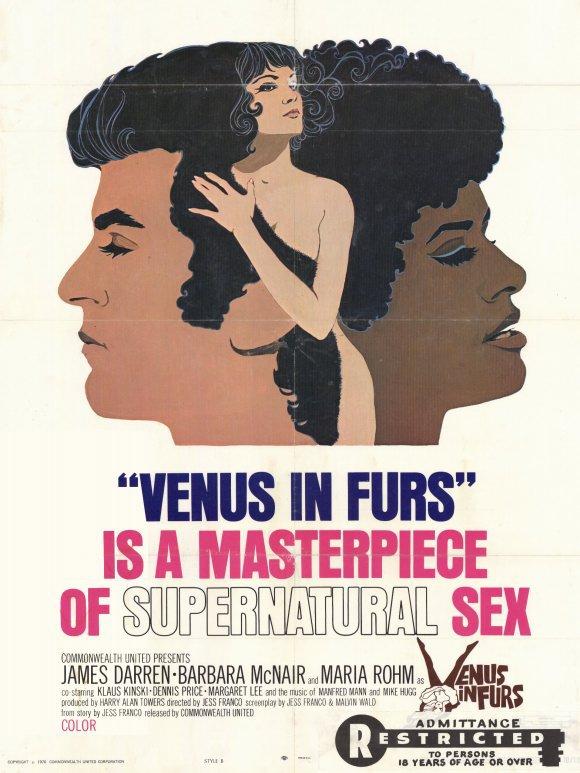 Venus In Furs (1969) - Jess Franco  DVD